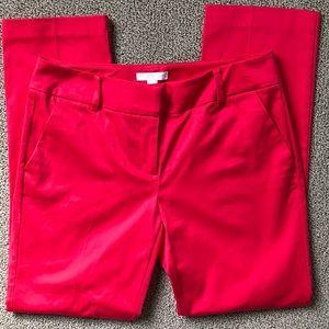 NY&C Stretch Cropped Dress Pants
